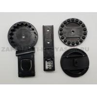 Регулятор-трещотка капюшона (комплект) для колясок Anex/Noordi