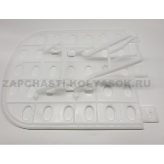 Спинка регулируемая для люльки детской коляски (белый)