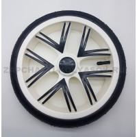 Колесо надувное 12 дюймов Низкопрофильное ( 230 на 60) тип 24 (Bebetto, Esspero) белое