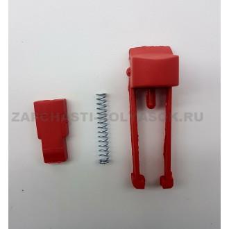 Стопор в блок крепления передних колес (красный)
