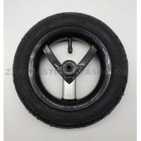 Колесо надувное 10 дюймов  без вилки тип 29 цвет черный