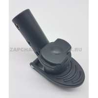 Блок крепление поворотного колеса тип 6  (ось 10 мм, труба 20/30 мм)