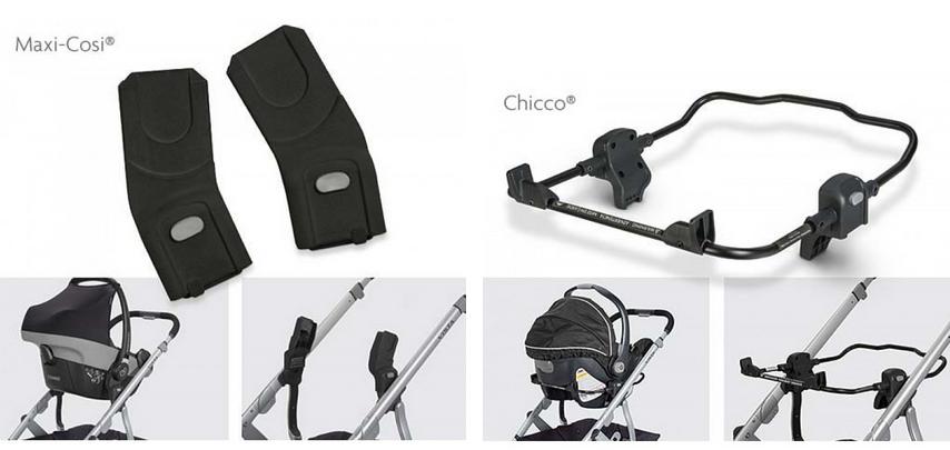 фото адаптеров для детских колясок