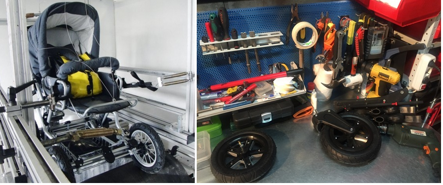 фото мастерской по ремонту колясок