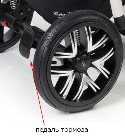фото ножного тормоза педали для коляски